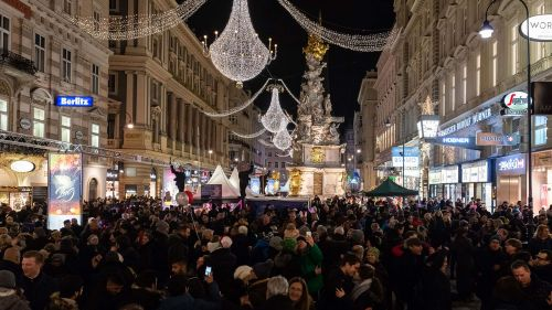 Silvester & New Years Eve, Vienna, Graben Celebrations © Stadt Wien Marketing, Johannes Wiedl