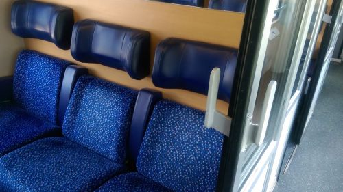 Train Interior in an ÖBB Train in Vienna © echonet.at / rv
