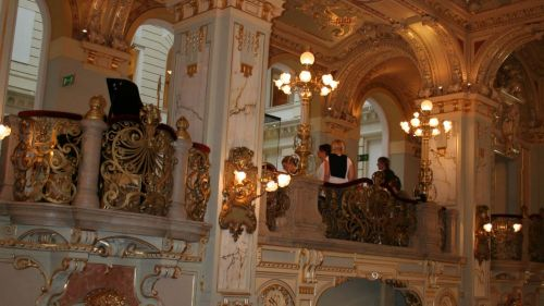 Café New York Interior, Budapest © echonet.at / rv