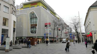 Gerngross Shopping Center on Mariahilfer Street Vienna © echonet.at / rv
